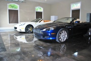 Auto Dealer Showroom Epoxy Floors