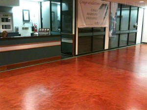 auto service center epoxy floors