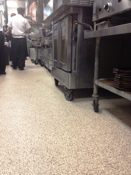 epoxy floor portfolio restaurants commercial kitchens