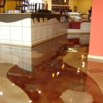 decorative metallic epoxy floors
