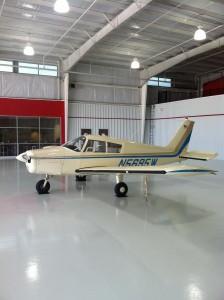 epoxy floors for airplane hangars
