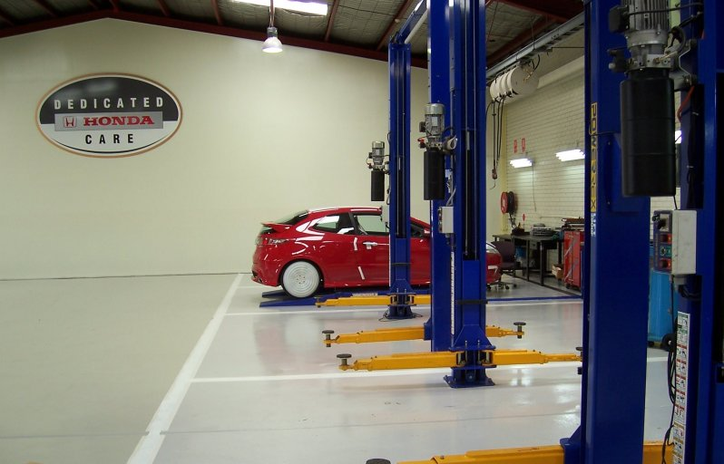 epoxy floor coatings for car service centers