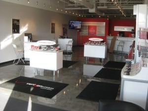 epoxy floor coatings for cell phone retailer