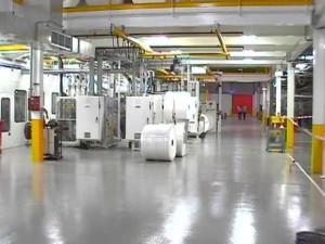 warehouse floors coated with epoxy
