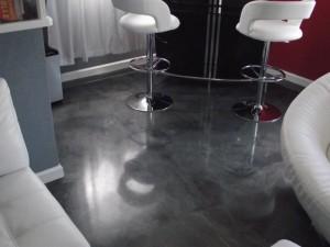 metallic epoxy floor coatings beauty salon