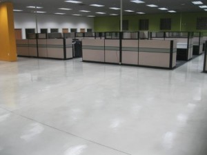 office workspace epoxy floors