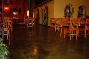 epoxy floors for cafes & restaurants RI & MA