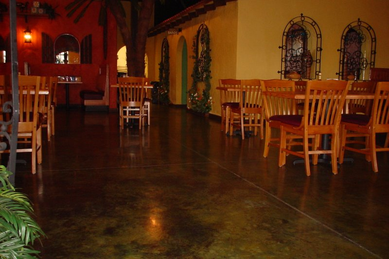 epoxy floors for cafes & restaurants RI & MA